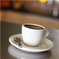 чёрный чай со сливками